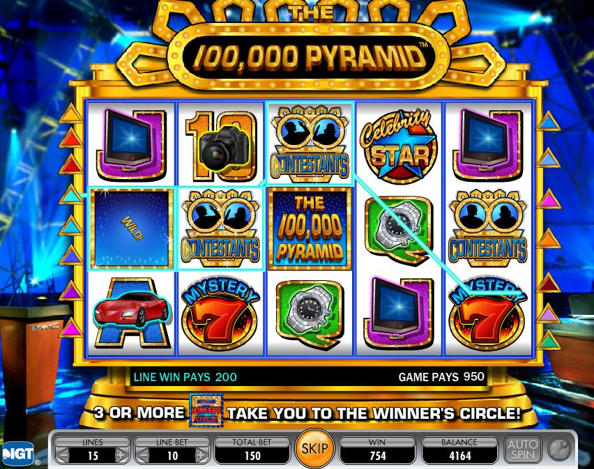 pyramid slot machines