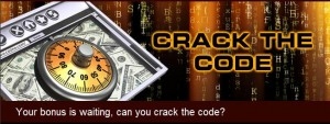 Crack The Code bonus at Casino.com