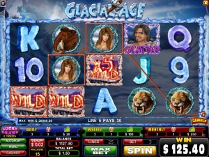 CasinoVal Glacial Age Slot Machine