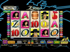 free slot machine zorro