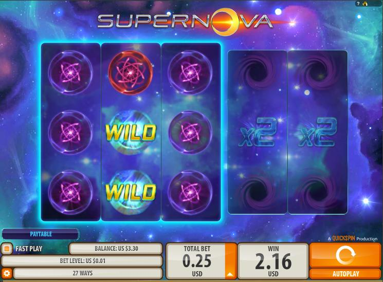 Supernova Slot Machine