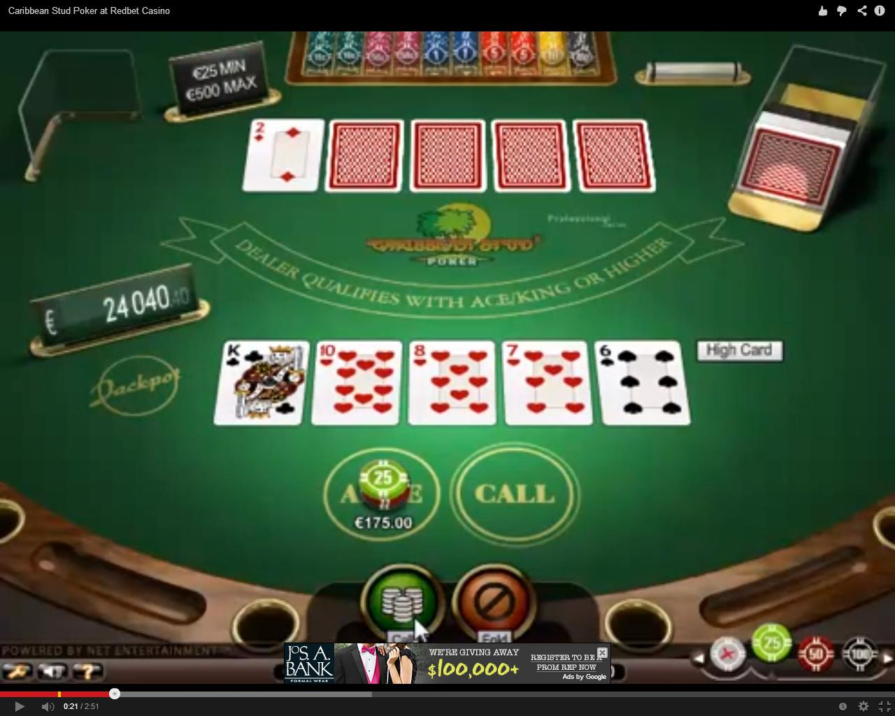 Spiele Caribbean Poker 3D Dealer - Video Slots Online