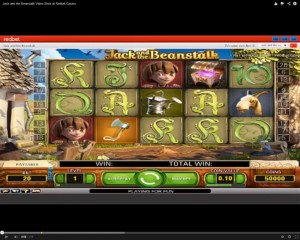 Jack And The Beanstalk Slot Machine at Redbet Casino