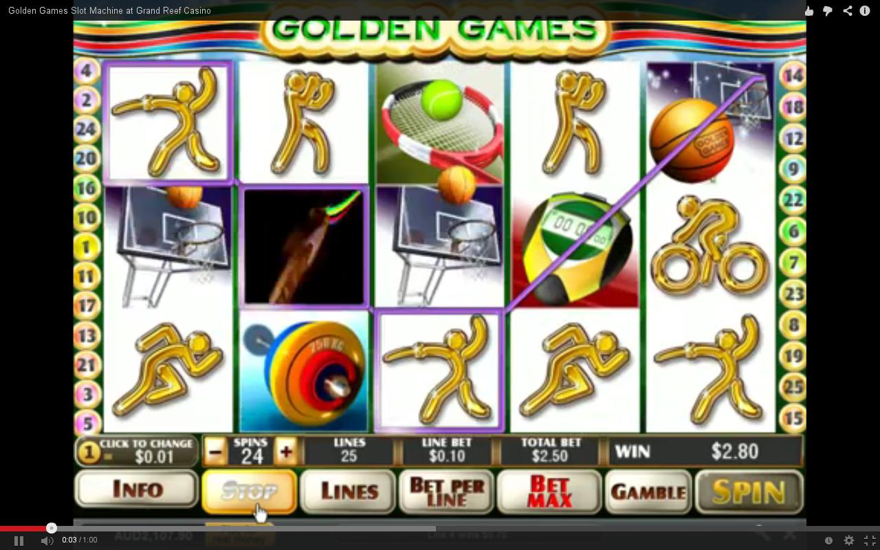slots machines online golden casino games