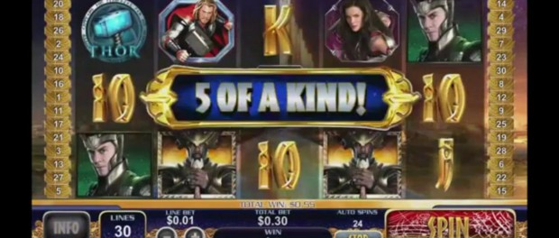Thor Slot Machine Dafabet Casino