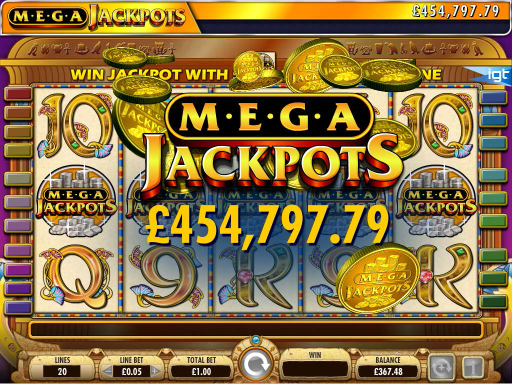 cleopatra slot machine jackpot
