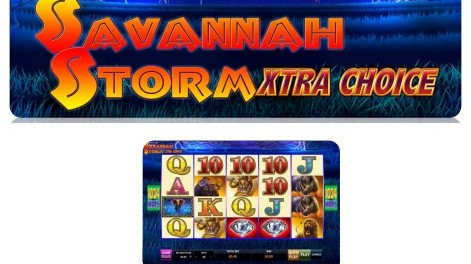 Savannah Storm Multi Choice Slot Machine at MoneyGaming Casino