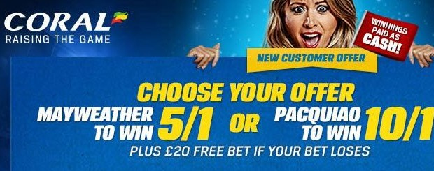 Mayweather Pacquiao Boxing Odds Special