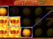 Explodiac Slot Machine at MoneyGaming Casino