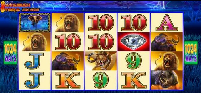 Savannah Storm Xtra Choice Slot Machine - Try for Free Online