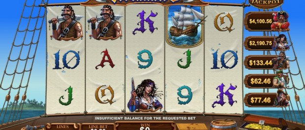Fortunate 5 Slot Machine Dafabet Casino