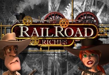 Railroad Riches Slot Machine at Sky Vegas