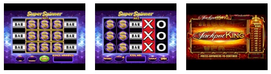 Super Spinner Bar X Jackpot King Slot Machine at Sky Vegas