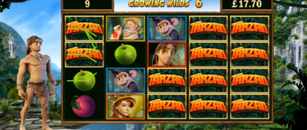 Tarzan Slot Machine at EU Casino