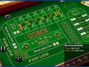 EUCasino craps table