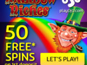 Get 50 Free Spins on Rainbow Riches
