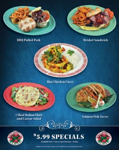Terribles Hotel Casino Las Vegas meals