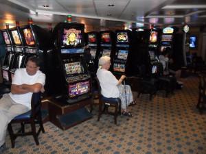 P and O Pacific Dawn Casino Slot Machines