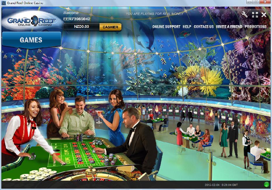 Grand Reef Casino Lobby