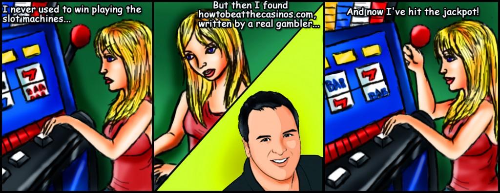 Casino Slot Machine Cartoon