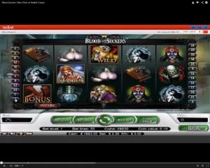 Blood Suckers Slot Machine at Redbet Casino