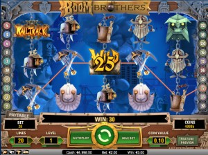Boom Brothers Video Slot Machine at Redbet Casino