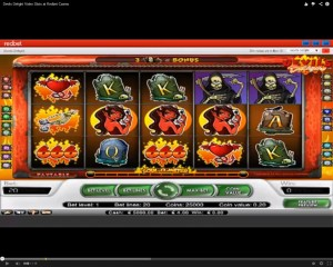Devils Delight Slot Machine at Redbet Casino