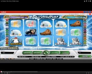 Icy Wonders Slot Machine at Redbet Casino