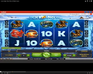 Lucky Angler Slot Machine at Redbet Casino