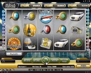 Mega Fortune Slot Machine at Redbet Casino