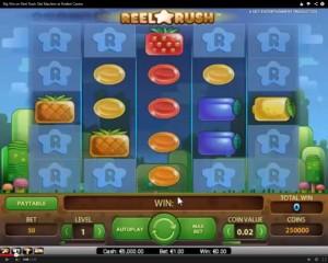 Reel Rush Slot Machine at Redbet Casino