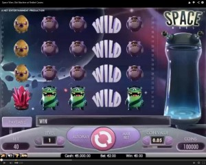 Space Wars Slot Machine at Redbet Casino