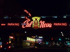 Reno Cal Neva Casino Sign