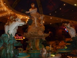 El Dorado Casino Fountain Exhibit