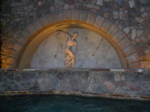 Reno Peppermill Casino - Outside Fountain