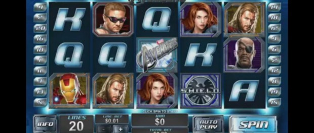Avengers Slot Machine Dafabet Casino