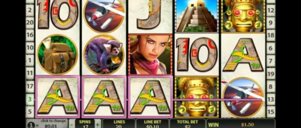 Azteca Slot Machine Dafabet Casino