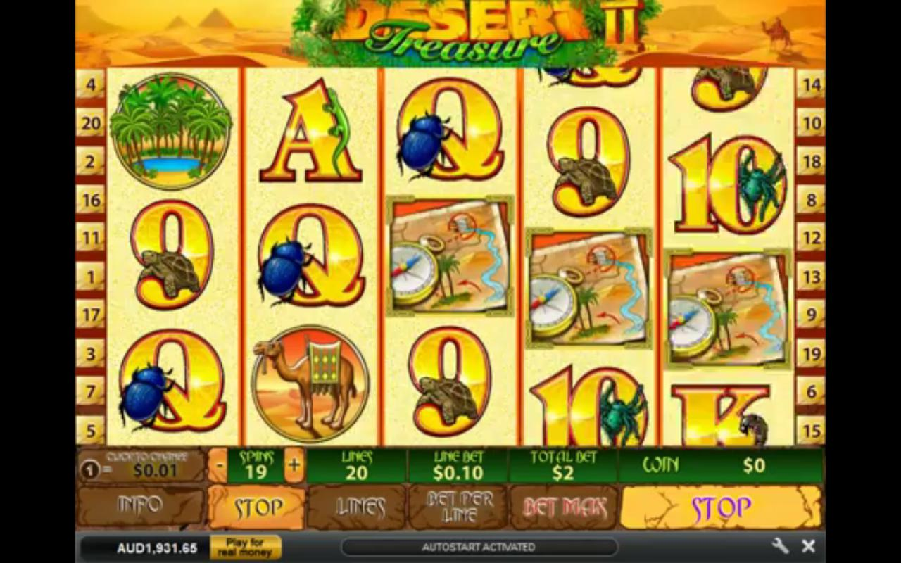 Play Desert Treasure II Online Slots at Casino.com