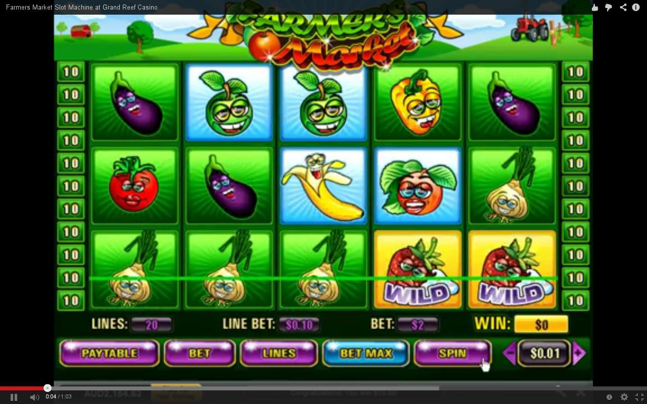 Play Farmers Market Slots Online at Casino.com Canada