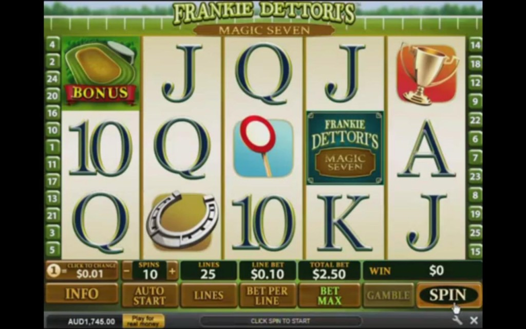 Frankie Dettoris Slot Machine Dafabet Casino