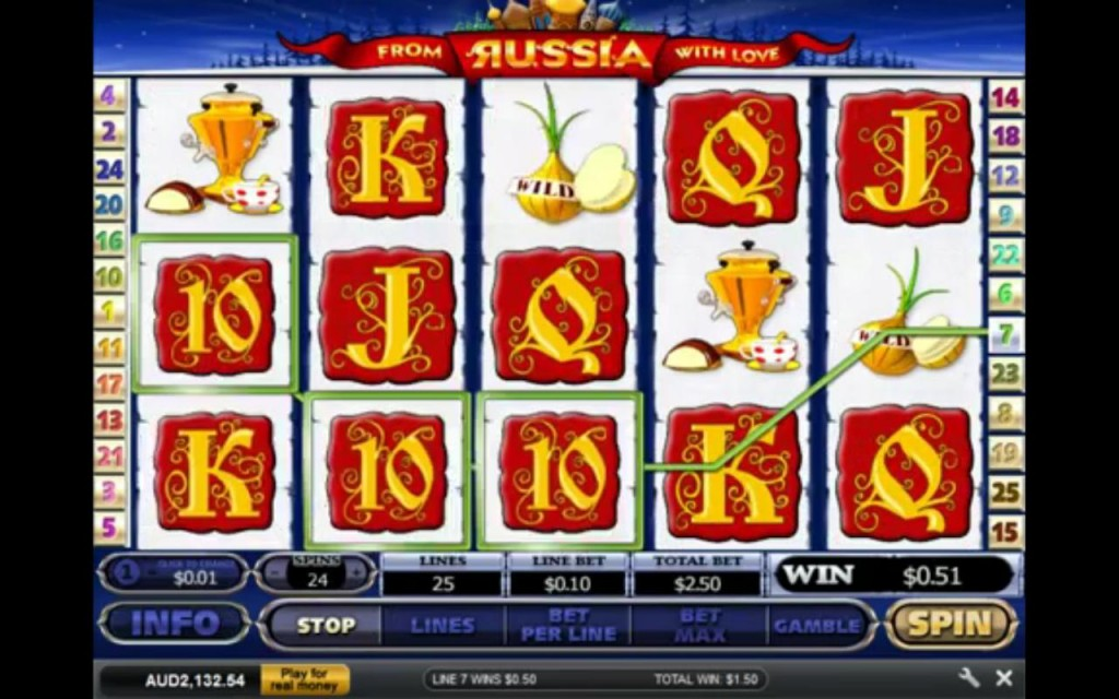 From Russia With Love Dafabet Casino