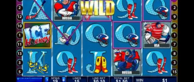 Ice Hockey Slot Machine Dafabet Casino