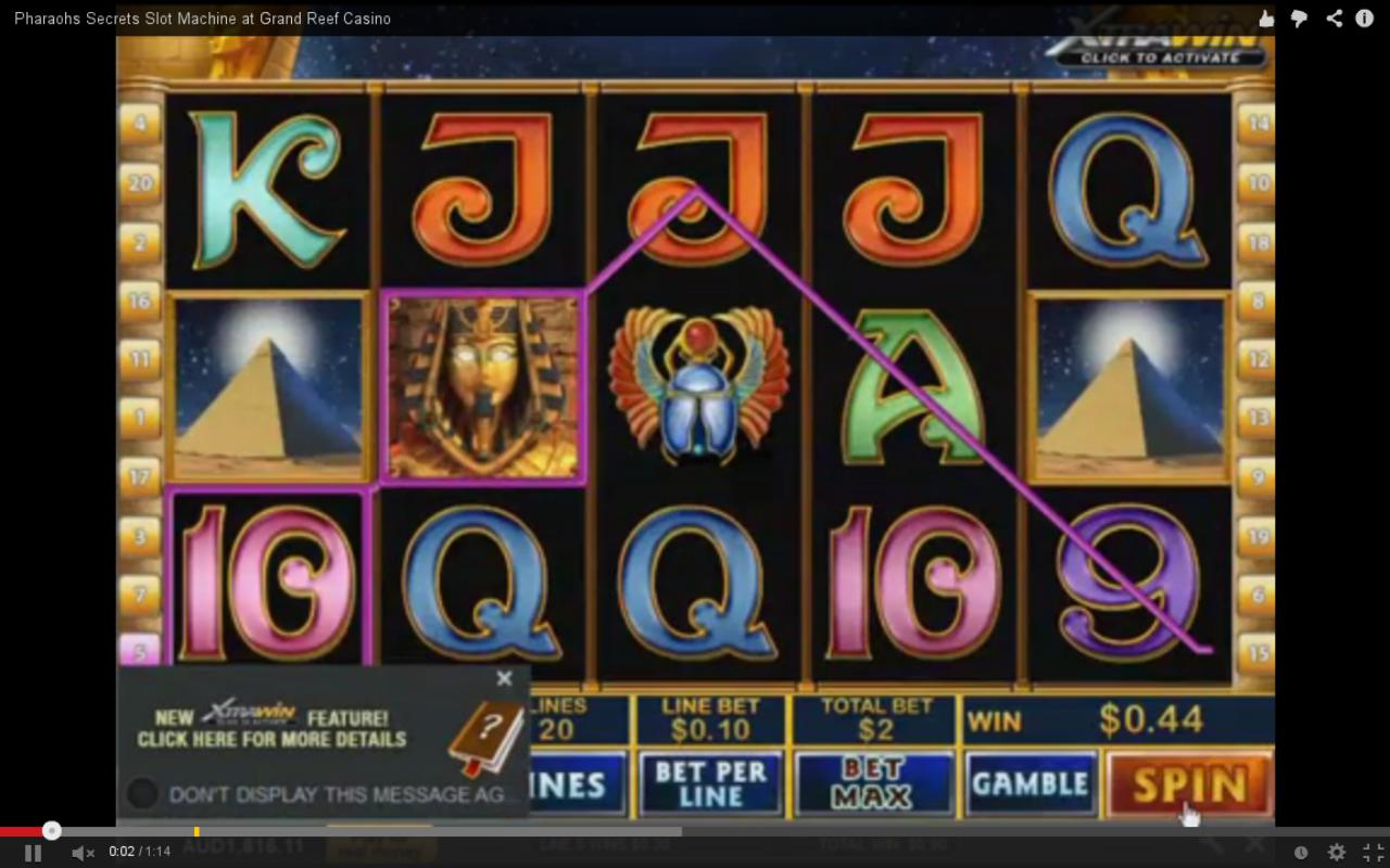 Pharaoh Slot Machines