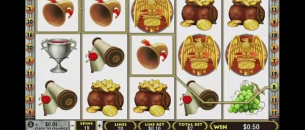 Rome and Glory Slot Machine Dafabet Casino