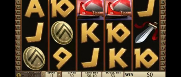 Sparta Slot Machine Dafabet Casino
