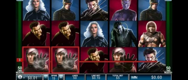 X Men 50 Lines Slot Machine Dafabet Casino