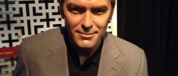 George Clooney at Madame Tussauds Las Vegas Nevada