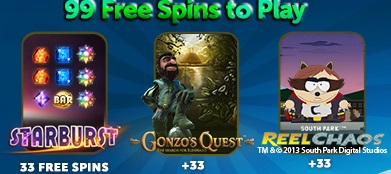 EU Casino 99 Free Spins