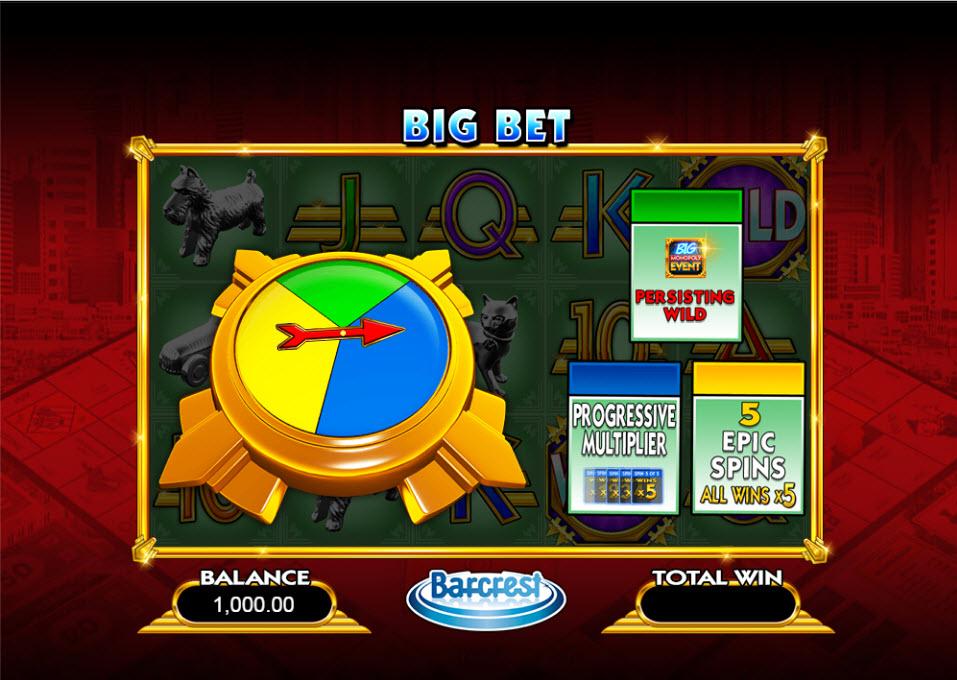 Monopolio slot machine
