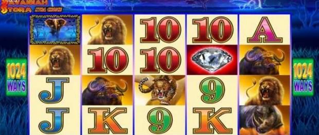 Savannah Storm Xtra Choice Slot Machine at MoneyGaming Casino